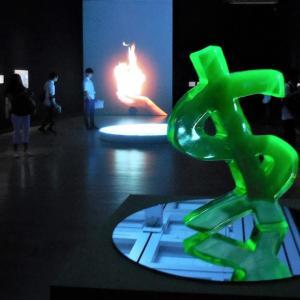 国立新美術館で、 『話しているのは誰? 現代美術に潜む文学』 を観ました。