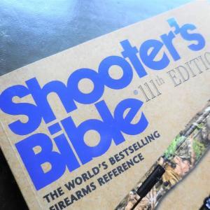 2020年版の 『Shooter's Bible (シューターズ・バイブル) 』 が届きました。