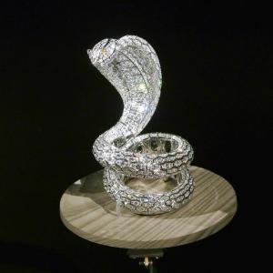 国立新美術館で、 『カルティエ、時の結晶』 を観ました。