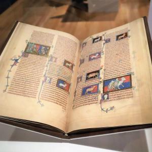 国立西洋美術館で、 『内藤コレクション展 ゴシック写本の小宇宙 文字に棲まう絵、言葉を超えてゆく絵』 を観ました。