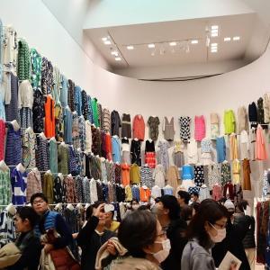 東京都現代美術館で、 『ミナ ペルホネン / 皆川明 つづく』 を見ました。