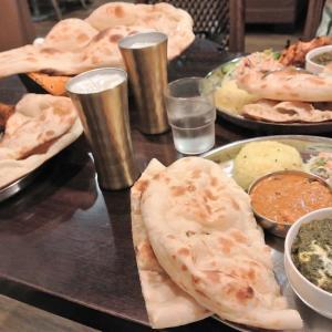 4年半振り!。佐倉市、 『インド料理 タージュ』 でカレーを食べました。