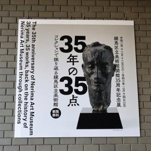 練馬区立美術館で、 『 35年の35点 コレクションで振り返る練馬区立美術館 』 みました。