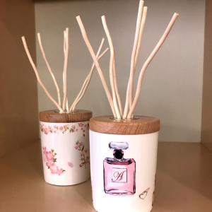 お部屋に取り入れたい香りもポーセラーツで作れます