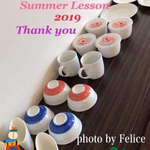 夏休みレッスンありがとうございました