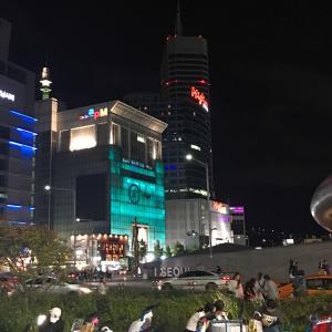 """""""""""東大門の第一平和市場で火事が発生!なう。"""""""""""