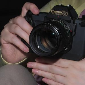 キヤノンT80 NEW FD100mmF2