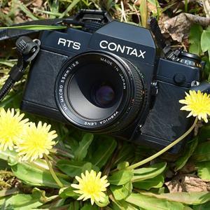 コンタックスRTSⅡクオーツ ヤシカMLマクロ55mmF2.8