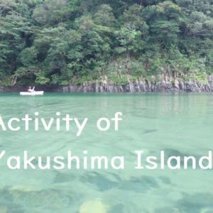 世界遺産の屋久島で楽しめるアクティビティをご紹介! 【リバーカヤック・シャワークライミング・アニマルウォチング・ケイビング】