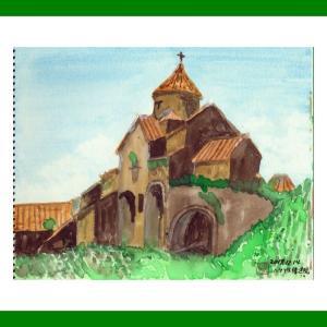 コーカサス三ヵ国旅行(31)アルメニアのハフプト修道院
