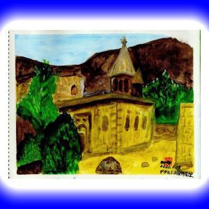 コーカサス三ヵ国旅行(42)アルメニア・ゲガルト洞窟修道院