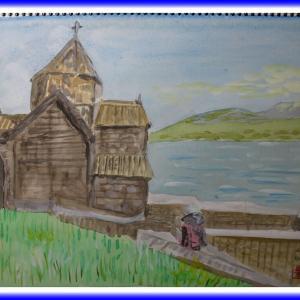 セバン修道院(アルメニア)