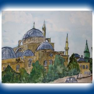 トルコ・コンヤのメヴラーナ博物館