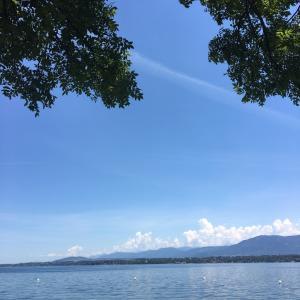 ヒャッホイ! 開放的なスイスの湖畔