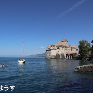 スイスのお城シヨン城へ