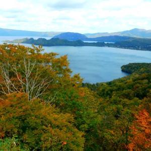 十和田湖 外輪山の紅葉は???