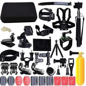 アクションカメラのメンテナンスとアタッチメント購入