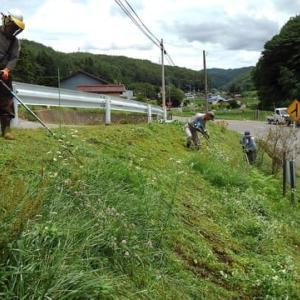 農地水環境を守る会 草刈り作業