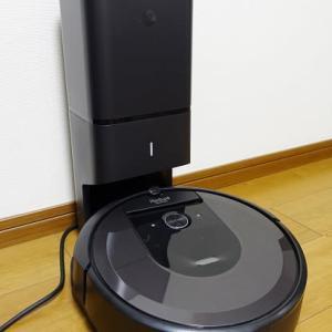 ロボット掃除機ルンバi7+を購入