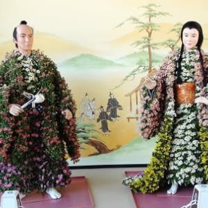 名古屋城菊人形と菊花大会