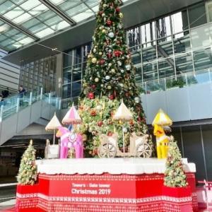 JRゲートタワーのクリスマスツリー