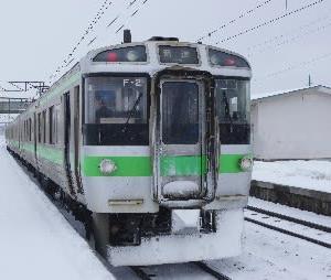 岩見沢駅橋上駅舎化10周年キネン乗り継ぎ(その2)