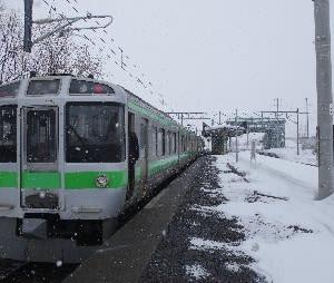 岩見沢駅橋上駅舎化10周年キネン乗り継ぎ(その7)