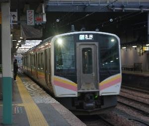合理化が進む新潟の駅〜越後堀之内駅〜