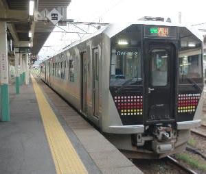 真夏の米坂線駅巡り(その1)