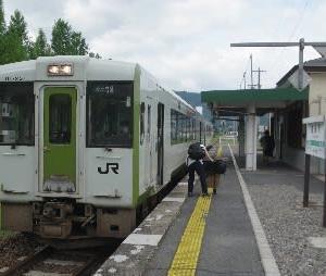 真夏の米坂線駅巡り(その3)