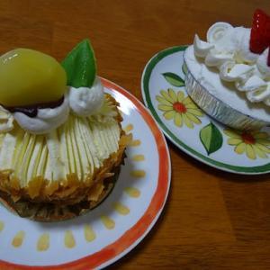 洵のケーキ。