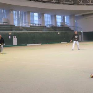 テニス~高森体育館