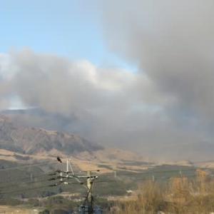 中岳の火山灰噴火