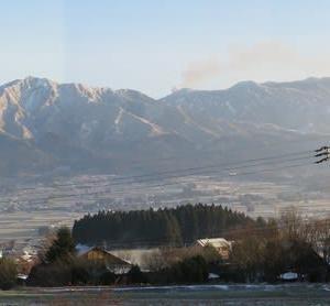 中岳の噴煙