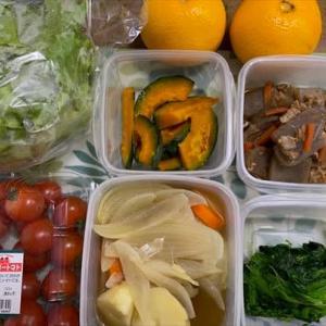 今週、赴任先の福井へ持って行った食材