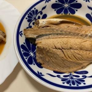 6/23サバの味噌煮で夕ご飯