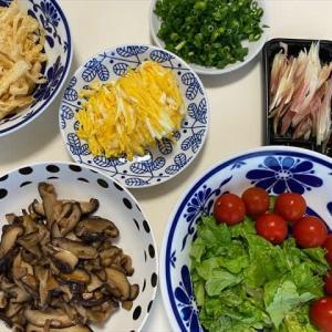 6/24素麺で夕ご飯