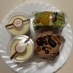 10/14牛丼で夕ご飯とケーキの話