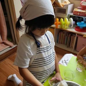 おまつり~カップのカラフル寿司作り