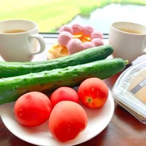 雨と体調不良の軽井沢行き〜1日目、ツルヤの野菜がおいしい!