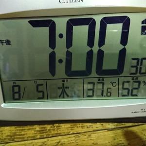 2021.08.05 今晩も暑かったので
