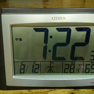 2021.08.12 お盆休みになりました!?