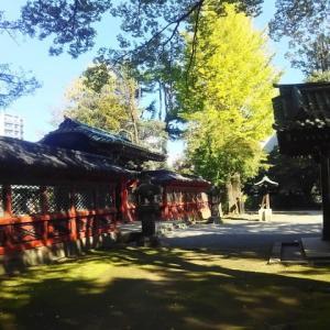 秋の根津神社/2019年ー2