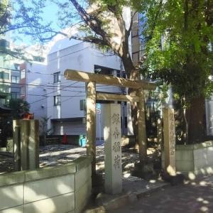 木漏れ日の「銀杏稲荷・稲荷八幡宮」