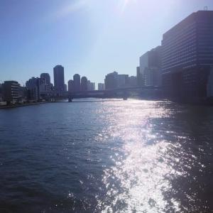 初冬の隅田川