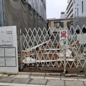 「讃岐うどん 根の津」の跡地再建中