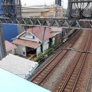 堀切駅陸橋上の風景