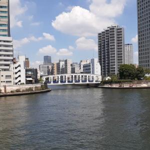 夏は豊海橋の風情が好いです。