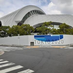 オリンピック会場へ行ってみる。/東京辰巳国際水泳場