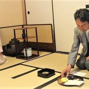 「秋のミニ茶会」でお茶の心と文化の一端に親しんでまいりました…